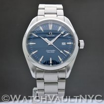 Omega Steel Quartz Blue 39.2mm pre-owned Seamaster Aqua Terra