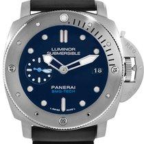 Panerai Luminor Submersible Titanium 47mm Blue Australia, SYDNEY