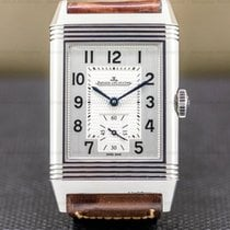 Jaeger-LeCoultre Reverso Classique Steel 27.4mm Silver Arabic numerals United States of America, Massachusetts, Boston