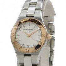 Baume & Mercier Zlato/Ocel 27mm Quartz M0A10014 - Baume Et Mercier Watch Quartz Ladies nové