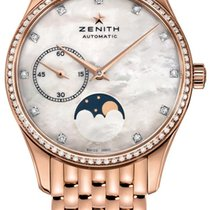 Zenith Elite Ultra Thin Rose gold 33mm Mother of pearl