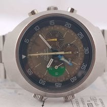Omega Flightmaster GMT 910 tropical dial