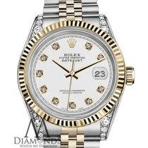 Rolex Lady-Datejust 68273 Très bon Or/Acier 31mm Remontage automatique