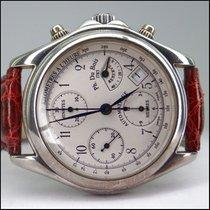 DuBois 1785 Automatic Chronograph Gangreserve 925er Silber