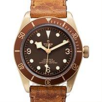 帝陀 (Tudor) Heritage Black Bay Bronze Brown Bronze/Leather 43mm...