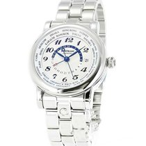 Montblanc 109286 Star Mens 42mm Automatic in Steel - on Steel...