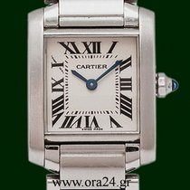 Cartier Tank Francaise Lady Stainless Steel