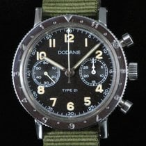 Dodane Type 21 Chrono Military Steel Manual Valjoux 235