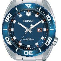 Pulsar Steel 45mm Quartz PG8281X1 new