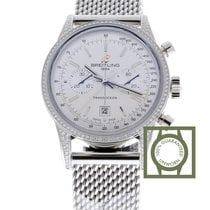 Breitling Transocean Chronograph 38 nieuw 38mm Staal