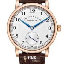 A. Lange & Söhne 1815 Rose gold 38,5mm Silver Arabic numerals