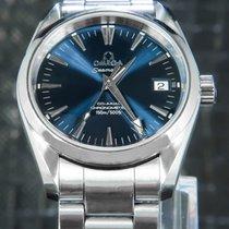 Omega tweedehands Automatisch 39mm Blauw Saffierglas