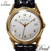 에테르나 옐로우골드 33mm 자동 8400.69 중고시계