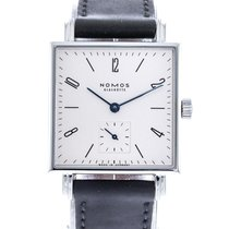 NOMOS Steel Automatic White 29.5mm pre-owned Tetra