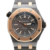 Audemars Piguet Tantalum Automatic Grey 42mm pre-owned Royal Oak Offshore Diver