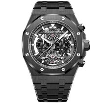 Audemars Piguet Royal Oak Tourbillon Ceramic 44mm Transparent No numerals United States of America, New York, New York
