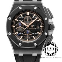 Audemars Piguet Royal Oak Offshore Chronograph Keramik 44mm Sort Ingen tal