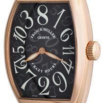 Franck Muller Crazy Hours Rose gold 32mm Black Arabic numerals