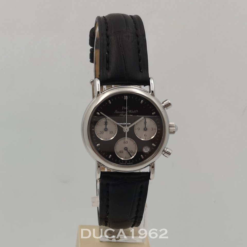 Lady Portofino Iwc Con Chronograph Service eWYIEDH92b