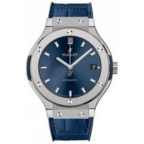 Hublot Classic Fusion Blue Titanium 38mm Blue No numerals United Kingdom, London