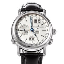 Ulysse Nardin GMT +/- Perpetual White gold 38.5mm Silver United States of America, Texas, Houston