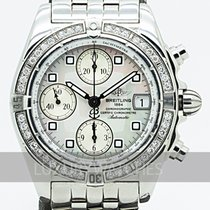 Breitling Chrono Galactic Staal 39mm Wit