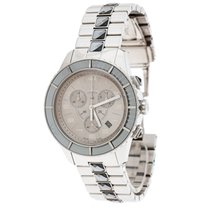 Dior Steel Quartz Dior Silver Grey Stainless Steel Christal CD114312 pre-owned