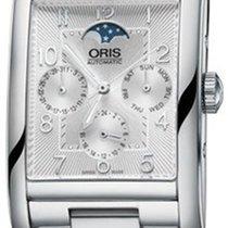 Oris Steel 32mm Automatic 01 582 7694 4061-07 8 24 20 new