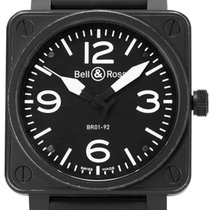 Bell & Ross BR 01-92 pre-owned 46mm Rubber