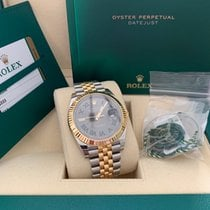 Rolex Datejust Gold/Steel 41mm Silver (solid) No numerals United States of America, Pennsylvania, Philadelphia