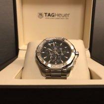 TAG Heuer Aquaracer 300M nouveau 2018 Quartz Chronographe Montre avec coffret d'origine et papiers d'origine CAY1110.BA0927