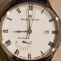 Maurice Lacroix Masterpiece Réserve de Marche Steel 40mm White Roman numerals United States of America, New Jersey, Flanders