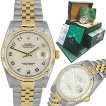 Rolex Datejust Gold/Steel 36mm Champagne United States of America, New York, Massapequa Park