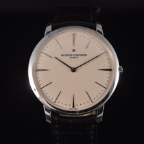 Vacheron Constantin White gold 40mm Manual winding Patrimony pre-owned
