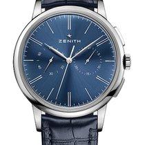Zenith Elite Chronograph Classic Stahl 42mm Blau