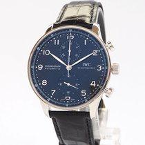IWC Portuguese Chronograph nuevo 2020 Automático Cronógrafo Reloj con estuche y documentos originales IWC IW371447
