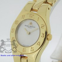 Baume & Mercier Linea solid 18K Yellow Gold SERVICED by B&M...