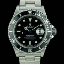 Rolex Submariner Date 16610 W Box and Paper