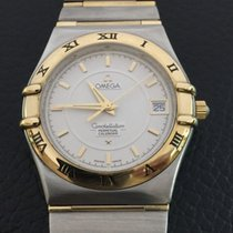 Omega Constellation perpetual calendar 18k Yellow gold and steel