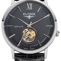 Elysee Steel 41,5mm Automatic Elysee  77010G Picus Automatik new