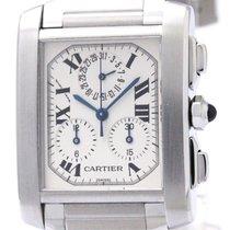 Cartier Tank Francaise Quartz Stainless Steel Men's Dress...