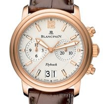 Blancpain Léman Fly-Back new 2020 Automatic Watch with original box and original papers 2885F-36B42-53B