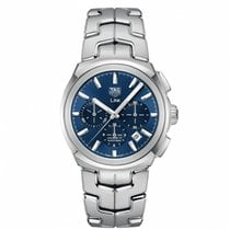 TAG Heuer Link CBC2112.BA0603 TAG HEUER  LINK Blu/Acciaio 41mm new