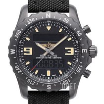 Breitling Chronospace Military Сталь Чёрный