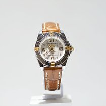 Breitling Cockpit Lady Gold/Steel 22mm Roman numerals