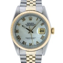 Rolex Datejust Gold/Steel 36mm Mother of pearl United States of America, California, Los Angeles