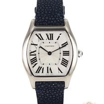 Cartier Tortue occasion 39mm Or blanc