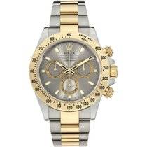 Rolex Cosmoghraph Daytona 2 Tone SS/Gold Silver Dial