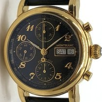 Montblanc Meisterstuck 4810 Chronograph Stainless Steel Gold...
