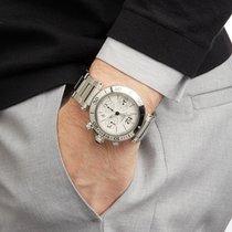 Cartier Pasha Seatimer Acero 42mm Blanco Romanos
